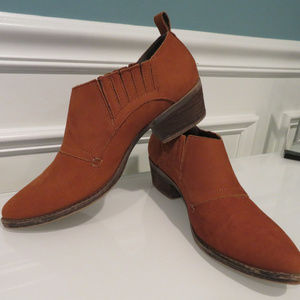 Steve Madden Auckland Western Flair Ankle Boots 9M